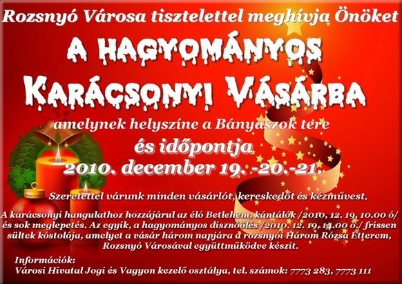 Vianočný trh 2010