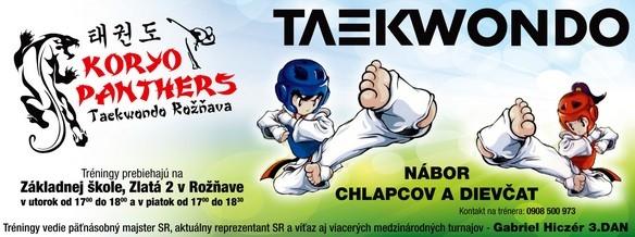 TAEKWONDO - KORYO PANTHERS Roznava